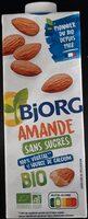 Lait d'amande sans sucres - Prodotto - fr