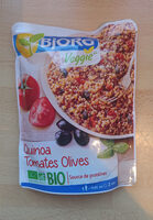 Quinoa Tomates Olives Bio - Produit - fr