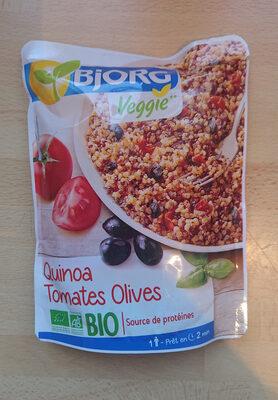 Quinoa Tomates Olives Bio - Produit