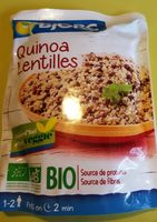 Quinoa lentille - Produit
