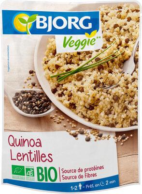 Quinoa Lentilles - Prodotto - fr