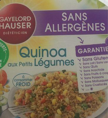 Quinoa aux petits legumes - Produit - fr