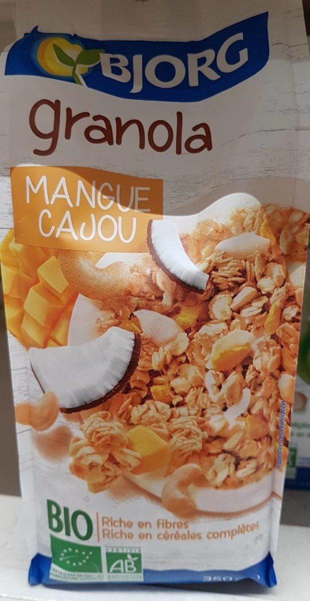 Granola Mangue Cajou - Produit - fr