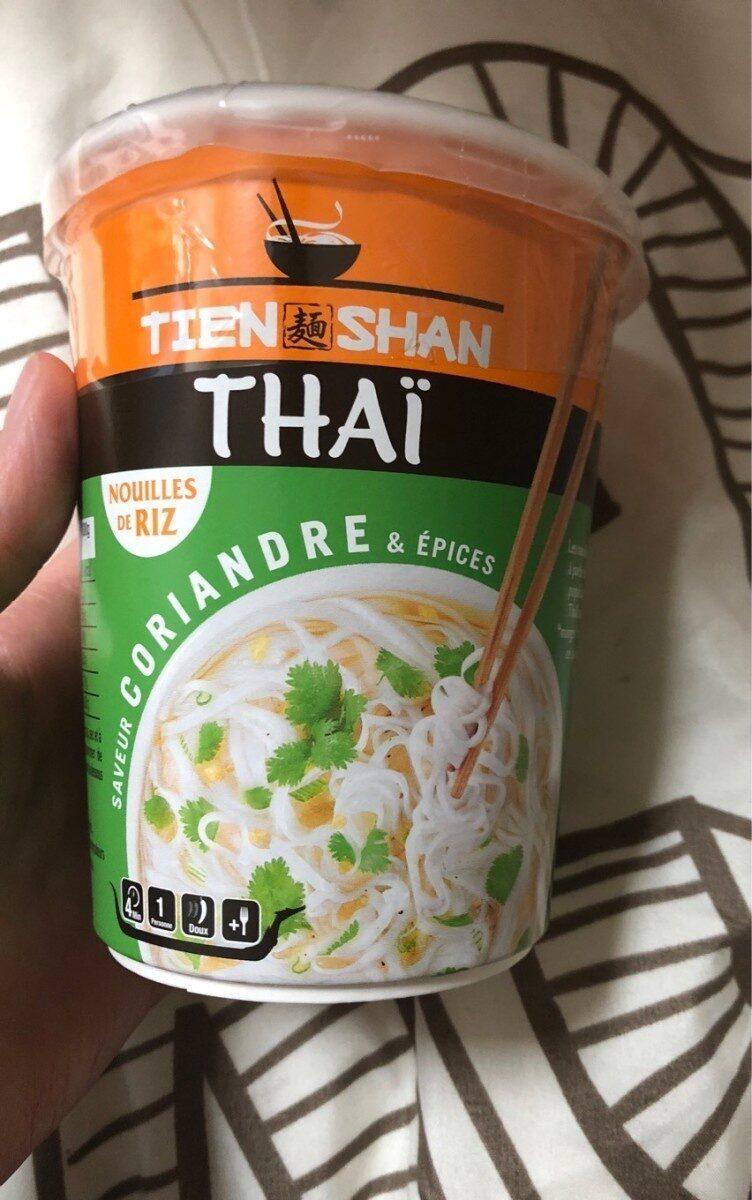 Nouilles de riz thai coriandre et epices - Product - fr