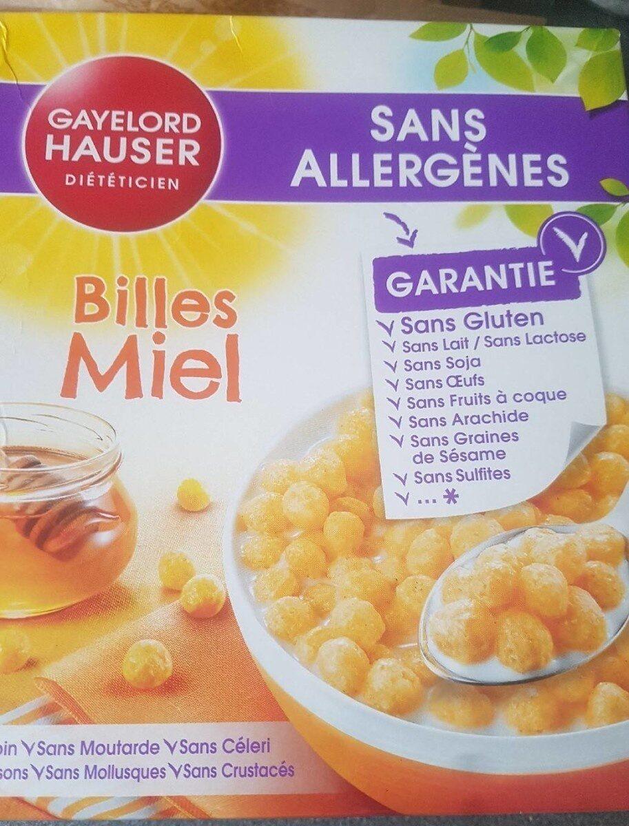 Billes au miel - Prodotto - fr