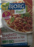 Spaghetti Façon Bolognaise au Soja - Produit