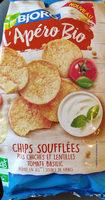 L'Apéro Bio Chips soufflées pois chiches et lentilles tomate basilic - Product