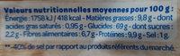 L'Apéro Bio Chips soufflées pois chiches et lentilles tomate basilic - Nutrition facts