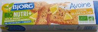 Biscuits avoine citron graines de chia - Product - fr