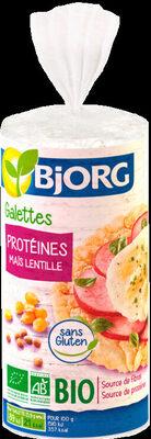 Galette protéines lentille - Produit - fr