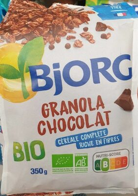 Bjorg granola chocolat - Product - fr