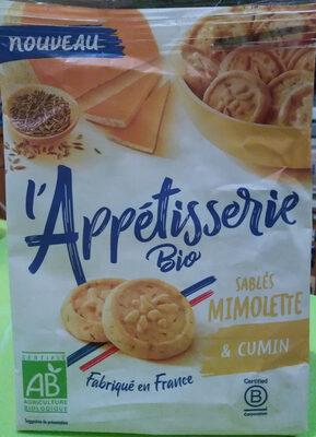 Sablés Mimolette et Cumin - Product - fr