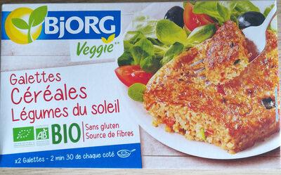 Galettes céréales Légumes du soleil - Produit - fr
