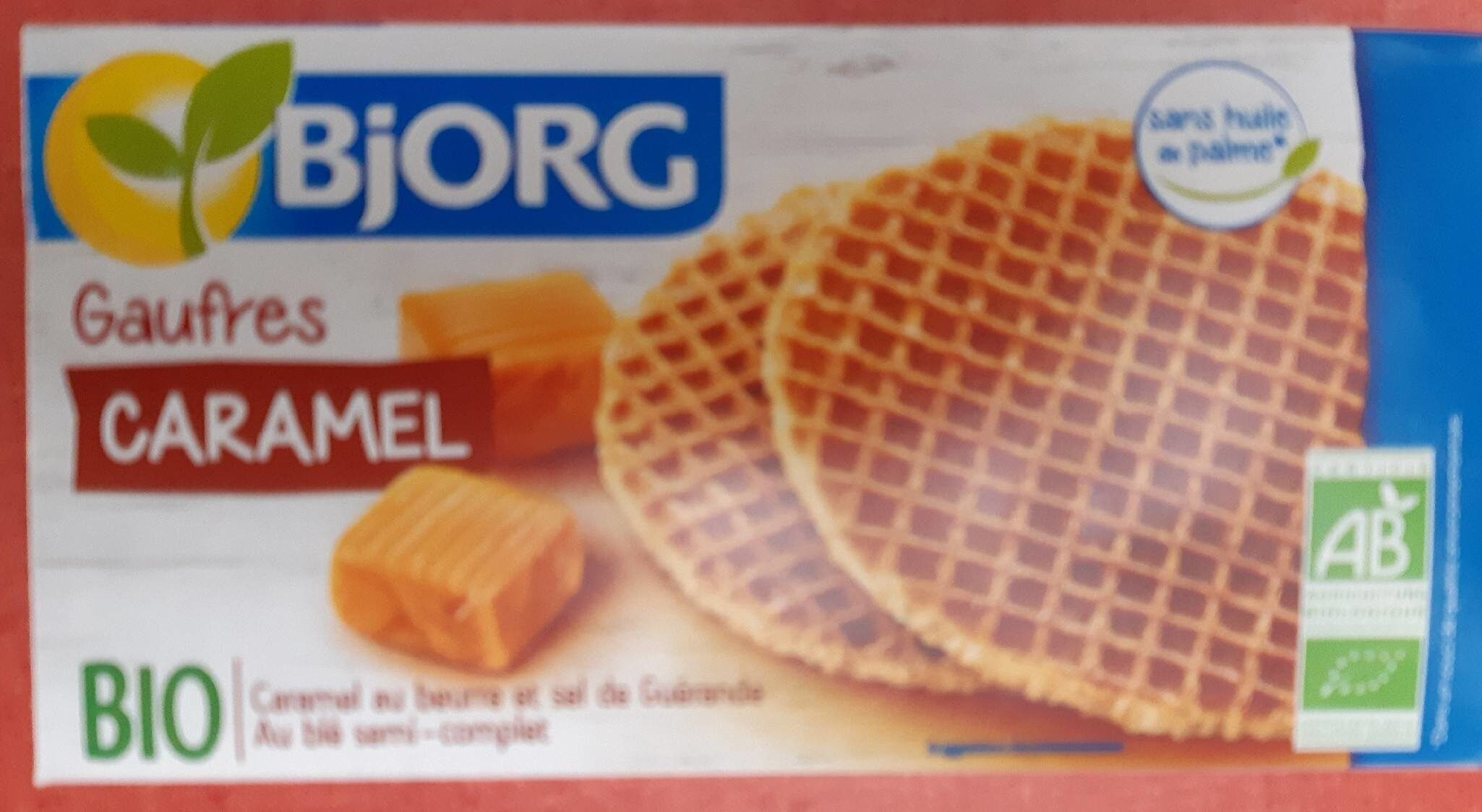 Gaufres caramel - Product - fr