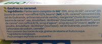 Gaufres caramel - Ingrediënten - fr