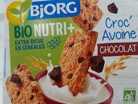 Croc'Avoine chocolat - Produit - fr