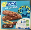 Les P'tits curieux barres cookies chocolat - Product