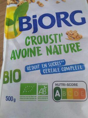 Crousti avoine nature - Prodotto - fr