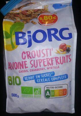 Crousti' avoine superfruit - Produit - fr