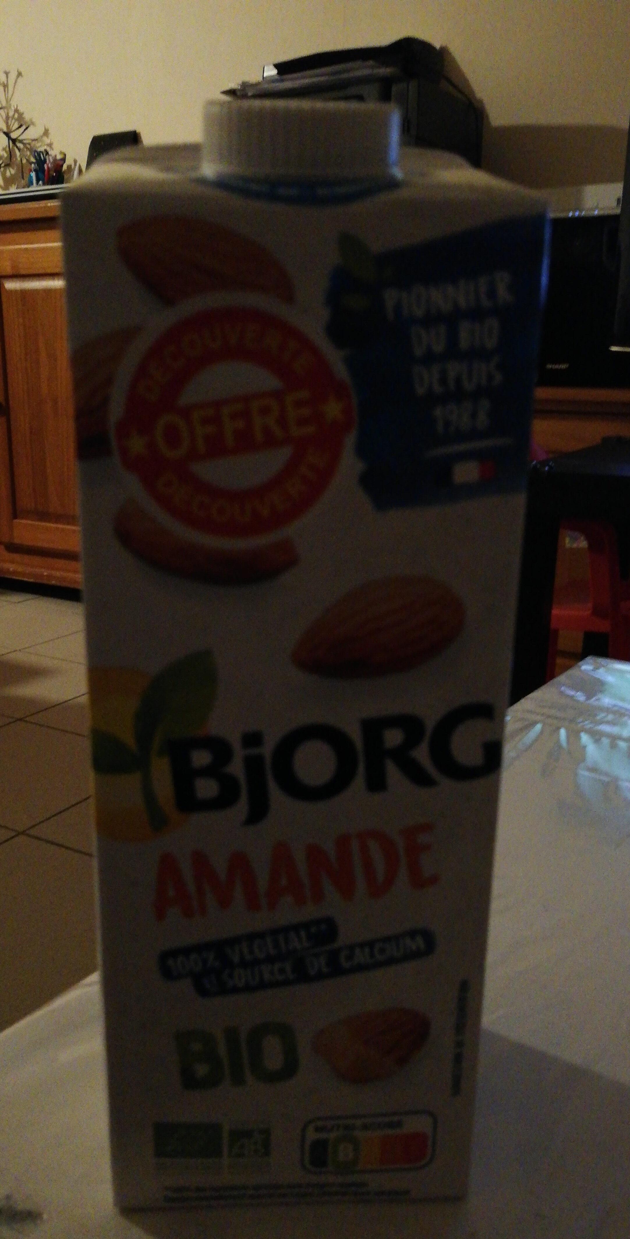 Boisson Amande - Ingrédients - fr