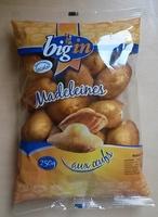 Madeleines aux œufs - Produit - fr