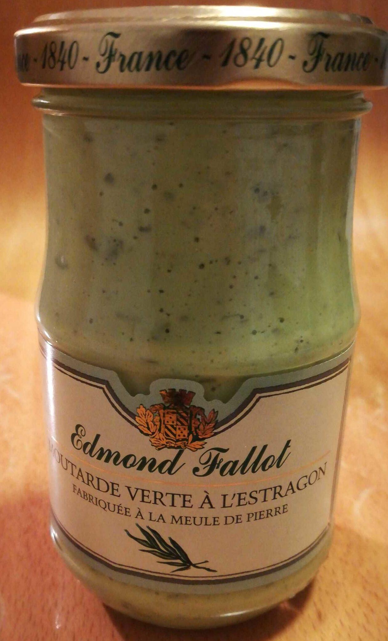 Moutarde verte à l'estragon - Product - fr