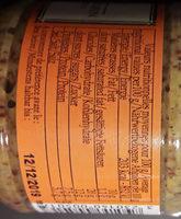 Moutarde au pain d'épices - Nutrition facts - fr