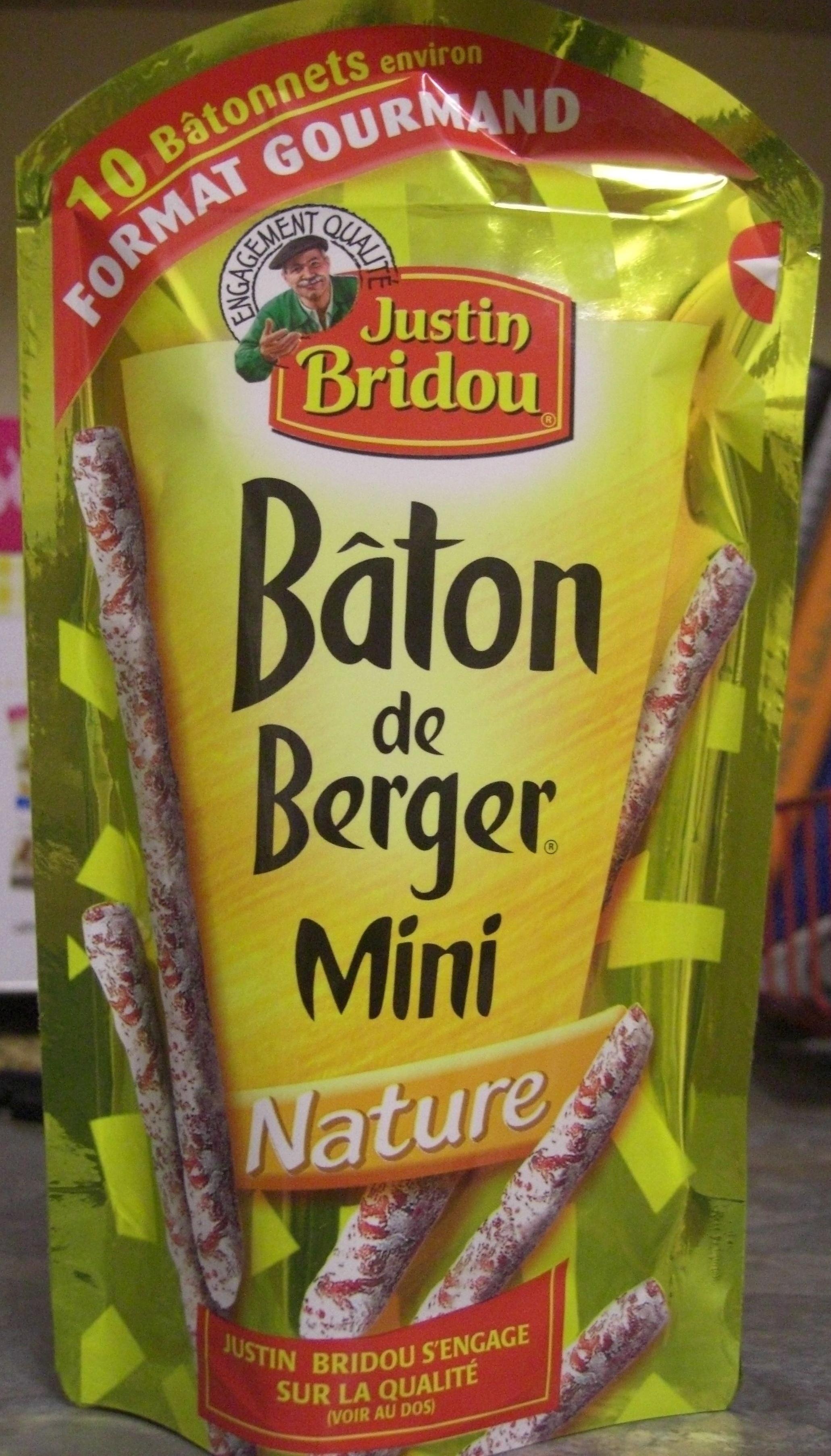 Bâton de Berger Mini Nature (Format Gourmand, 10 Bâtonnets environ) - Product - fr