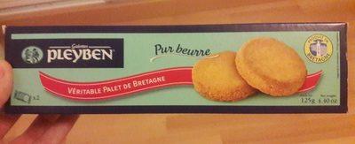 Véritable palet de Bretagne pur beurre - Product