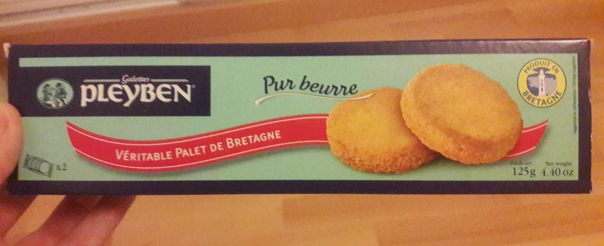 Véritable palet de Bretagne pur beurre - Prodotto - fr