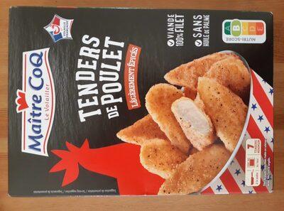 Tendres de poulet legerement epices - Produit - fr