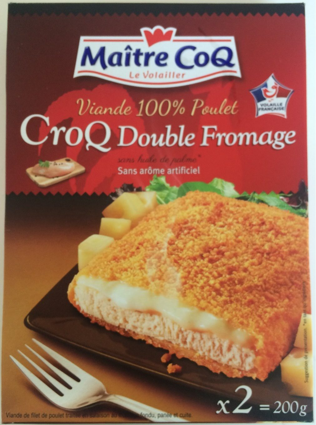 CroQ Double Fromage - Product - fr