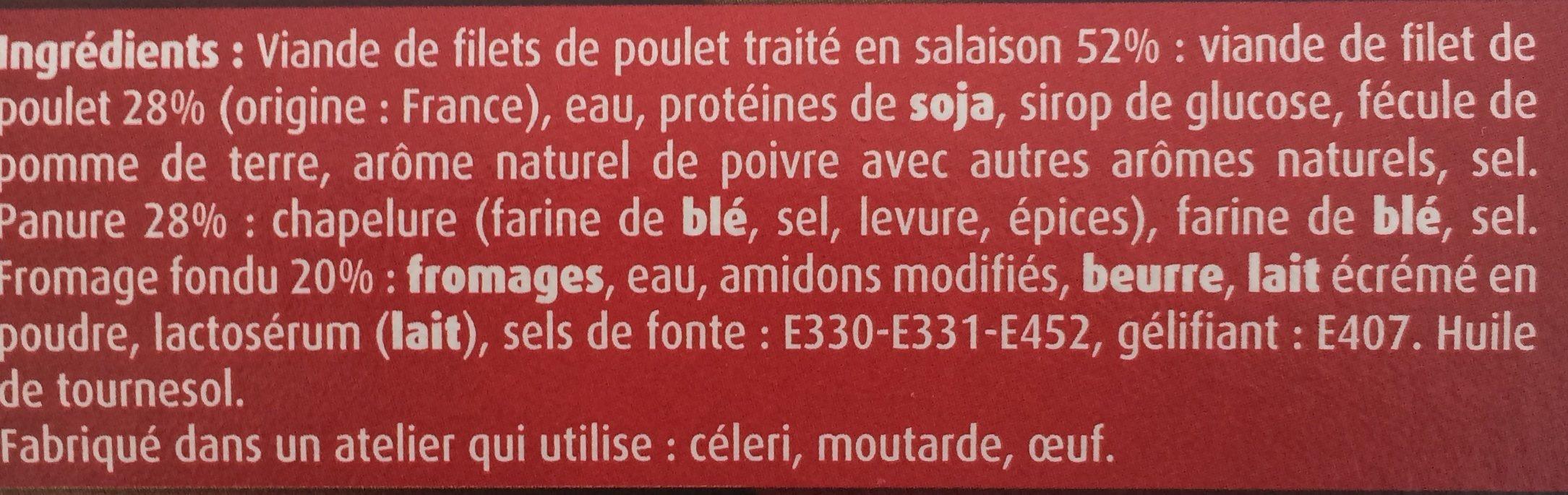 CroQ Double Fromage - Ingrediënten - fr