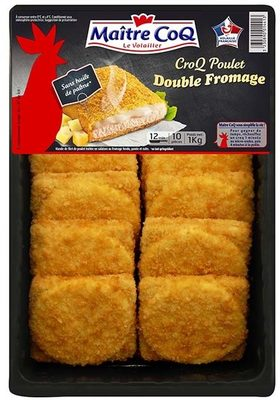 Croq poulet double fromage - Product