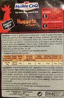 Maitre coq nuggets de poulet sous atmosphere lot - Ingredients - fr
