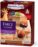 Farce cuisinée aux figues et au foie gras de canard - Product