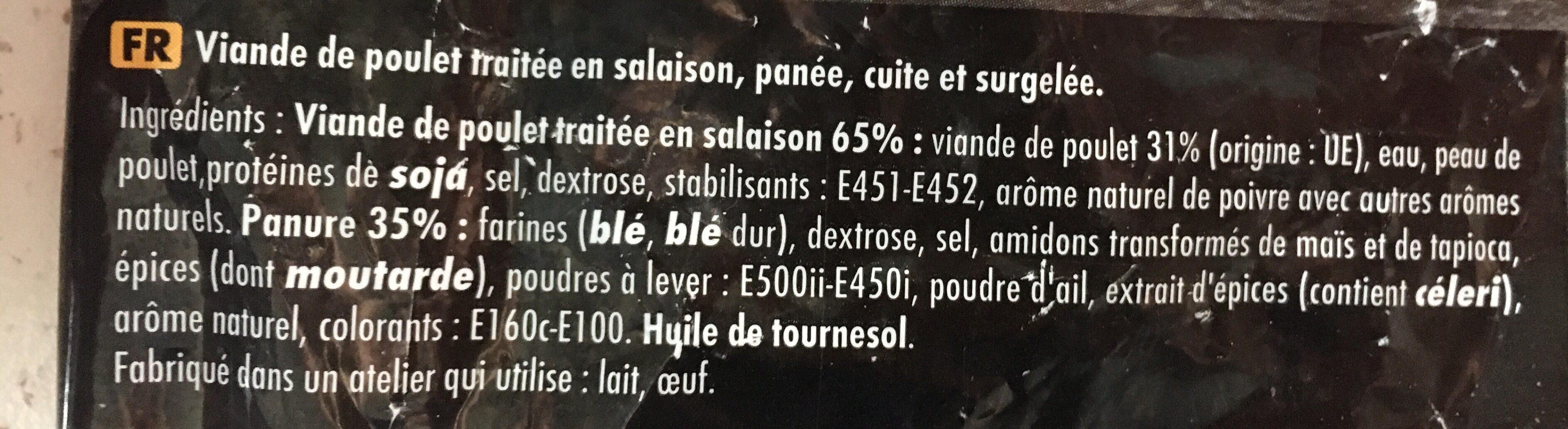 Nuggets de poulet 1 kg - Ingrediënten - fr