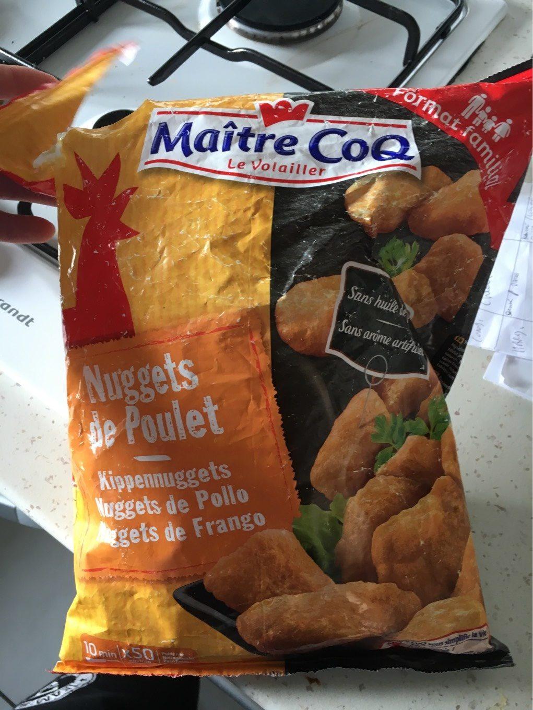Nuggets de poulet 1 kg - Voedingswaarden - fr