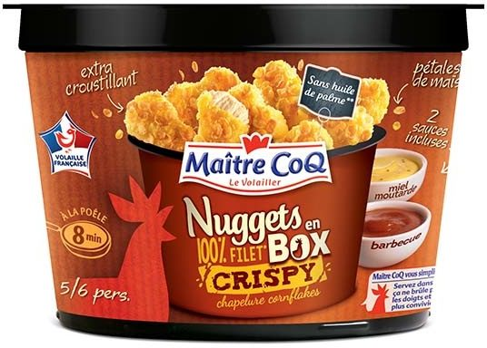 Nuggets Box Crispy - Produit - fr