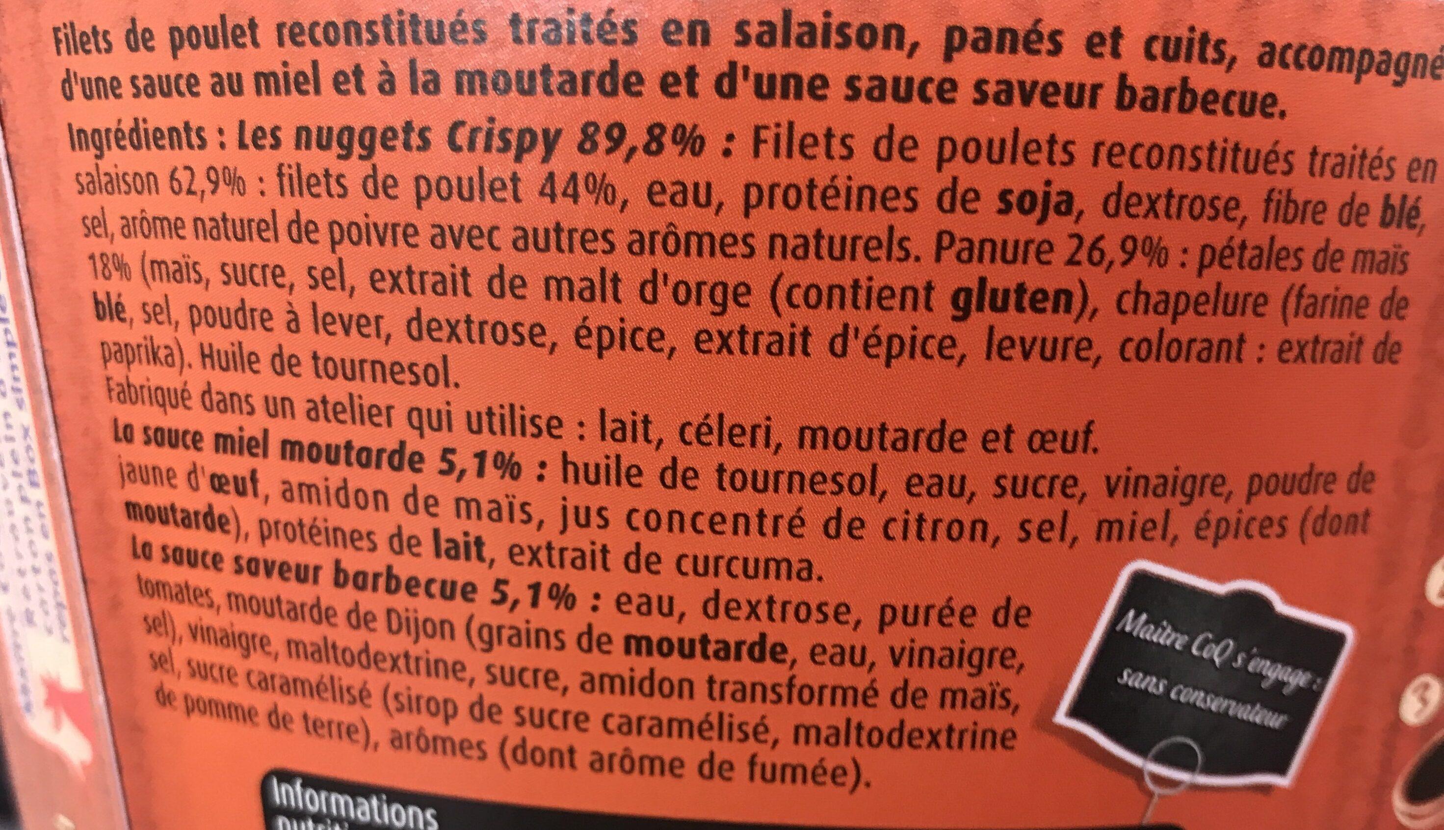 Nuggets Box Crispy - Ingrédients - fr