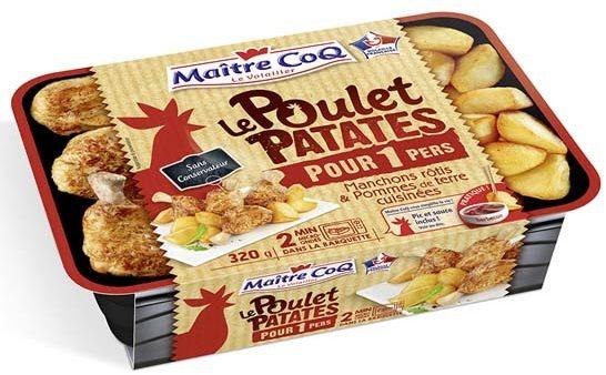 Le poulet patates pour 1 pers - Produit