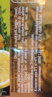 Hauts de cuisses de poulet recette thym citron - Ingrédients