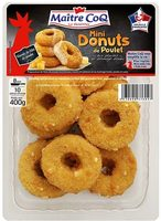 Mini donuts de poulet 400g - Produit - fr