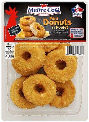 Mini donuts de poulet 400g - Produit