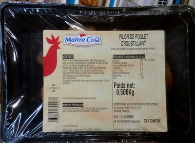 Pilon de Poulet Croustillant - Produit - fr