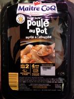 Poulet façon Poule au Pot mijoté à l'étouffée - Produit