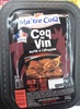Coq au vin mijoté à l'étouffée - Product