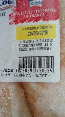 Filets poulet jaune Maitre coq - Produit - fr