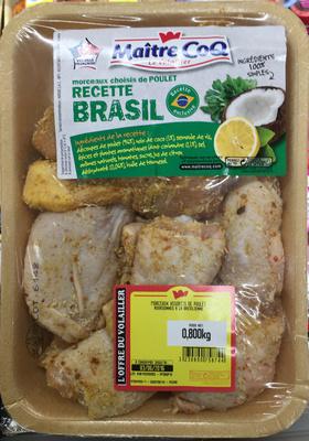 Morceaux choisis de Poulet recette Brasil - Product - fr