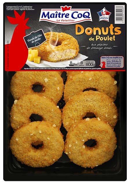 Donuts de poulet 800g - Produit